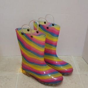 Western Chief | Light up Rain Boots | Kid's size 1